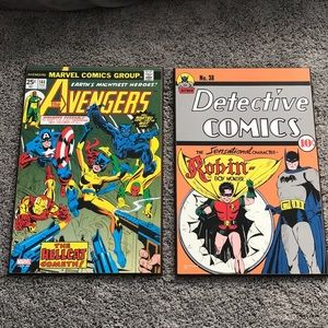 Super hero comic book wooden wall art